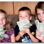 Christmas is a good time to teach kids about money