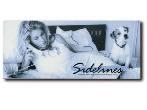 Sidelines is a support group for high risk prgnancies and provides information about bed rest