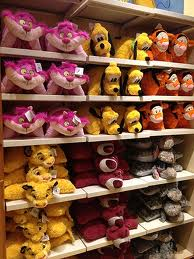 Quite the assortment of Disney pillow pets