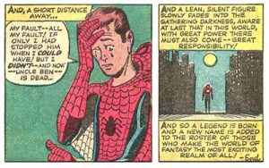 Spiderman and responsibility
