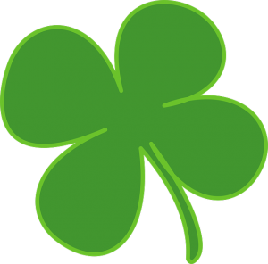The shamrock is the symbol of Saint Patrick's Day