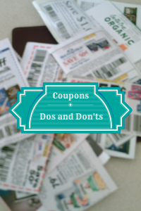 Couponing Dos and Don'ts