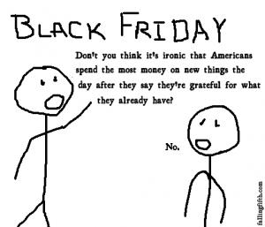 Black Friday humor