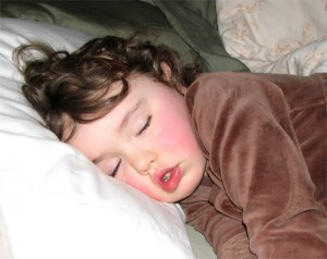 Making sure your child gets enough sleep is important to their growth & development
