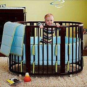Decorating a Crib