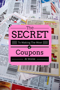 Making The Most of Coupons