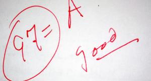 Rewarding Students for Good Grades