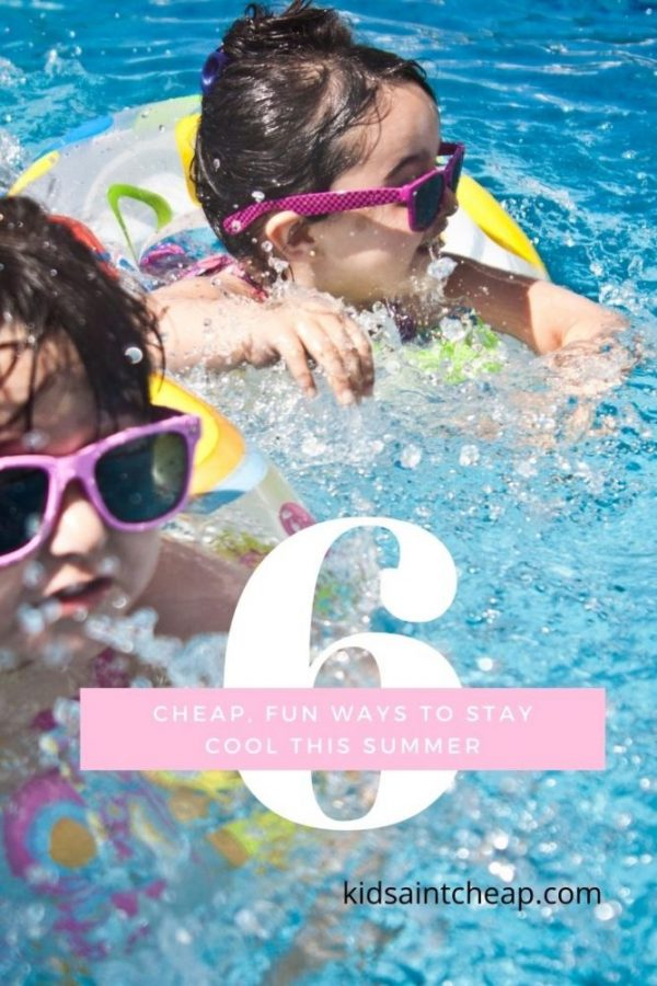 Cheap Fun Ways to Stay Cool This Summer