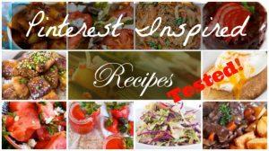 Pinterest Inspired Receipes