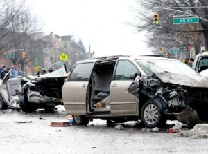 car accident family