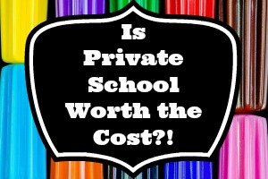 private school costs