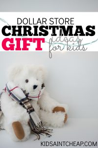 Need some inexpensive gift ideas? Here are some great Dollars Store Christmas gifts for kids!