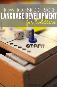 Is your child having a hard time learning to talk? Here's how to encourage good language development for toddlers.