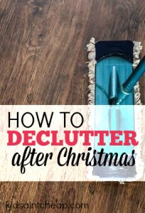 Christmas can leave your home a total wreck! However, if you declutter after Christmas you can have a nice and organized house all year long. Here's how to get started.