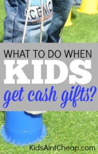 What do you do when money is given to your kids? There are two options: make them save it or let them spend it. But, which is the right option?