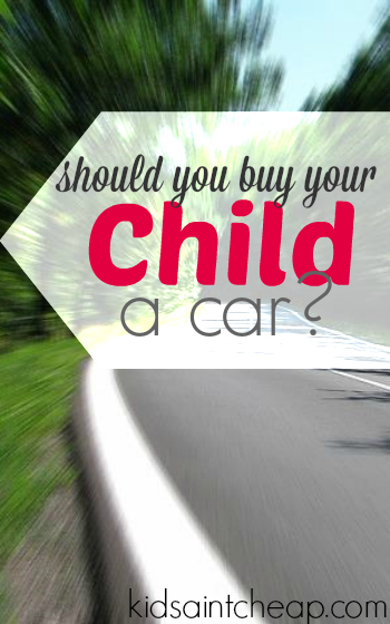 Should You Buy Your Kid A Car?