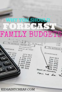 Your family budget should be made beyond a one month time span. Forecasting six months worth of expenses can be a much smarter move. Here's how to do it.