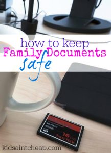 Doing some spring cleaning? Don't forget about keeping family documents safe. Here's what to do.