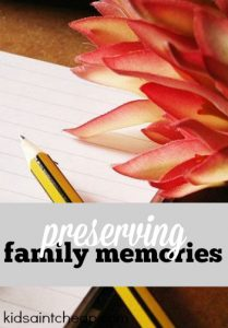 What's your favorite method for preserving family memories? While mine can be a little on the expensive side it's what I prefer to do.