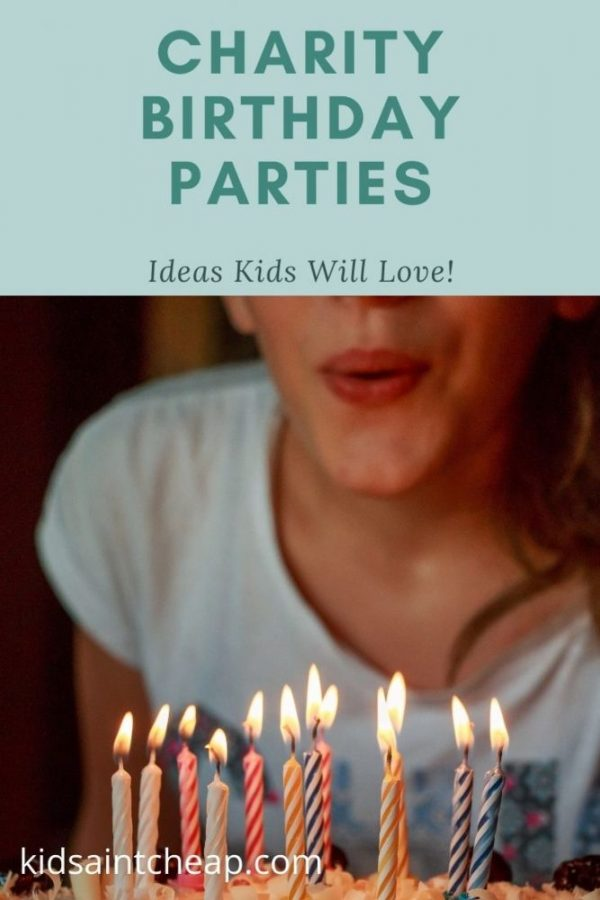 Charity Birthday Party Ideas