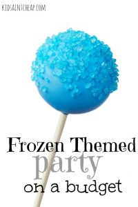 Throwing a themed party doesn't have to be expensive. Here's how we were able to throw a Frozen Themed Party on a budget.