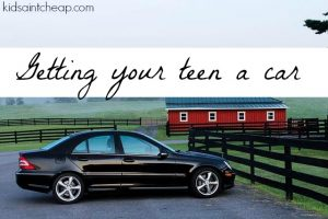Thinking of getting your teen their first car? Here are something you need to think of first.