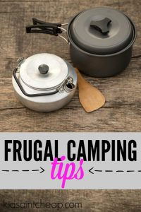 Camping can be expensive or it can be cheap. Here's how my family enjoys frugal camping on a regular basis.