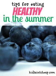 The summer is such a busy time which makes it so easy to constantly eat junk all the time. Here's how you can eat well in the summer without sacrificing taste.