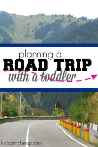 Planning a road trip with a toddler? If so, find out how we beat boredom, take of potty breaks, and plan snacks!
