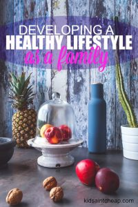 Developing a healthy lifestyle as a family is extremely important. Here are the two simple ways our family has done this.