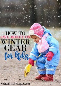 You don't have to break the bank to keep your kids warm this winter. Use these strategies to save money on kids winter gear.