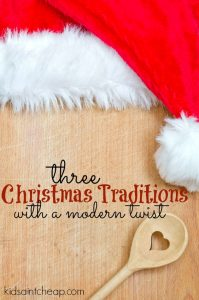 The best part of Christmas is creating memories with friends and family. Here are three Christmas traditions with a modern twist for you to try.