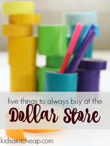 There's no need to spend a lot of money in these areas. Here are five things to buy at the dollar store!