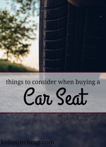 When buying a car seat there are many things to consider including safety and price. Here's what you should be looking for.