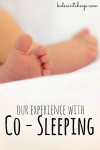 Before having a baby we never thought we'd be co-sleeping. But we did. For ten months. Here's how it went.