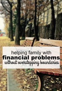 Helping family with financial problems can be extremely tough to do. These are the guidelines I set when a family member needs financial help.