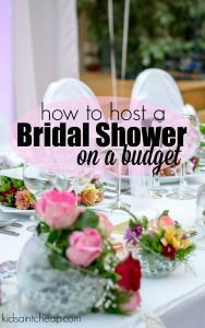 Throwing parties can get expensive fast. Here's how to host a bridal shower on a budget and still have a great party and great time.