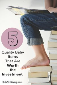 If you want to know what quality baby items are worth the money, I definitely recommend this list!