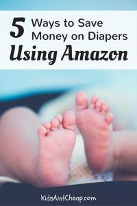 If you're already a fan of online shopping, then here are some great ways to save money on diapers using Amazon.