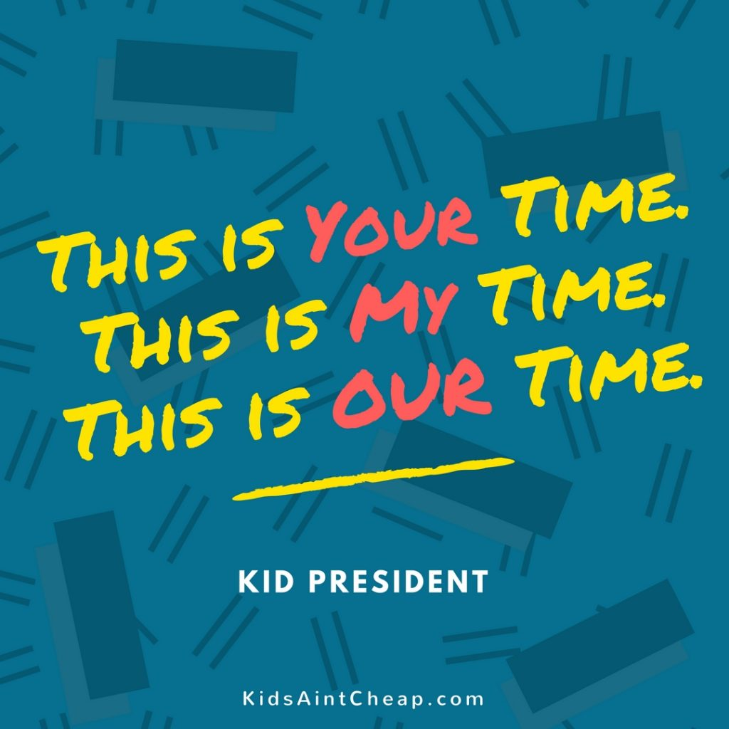 Quotes by Kid President