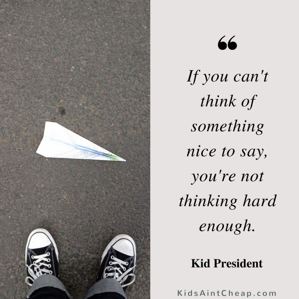 Kid President quotes (2)