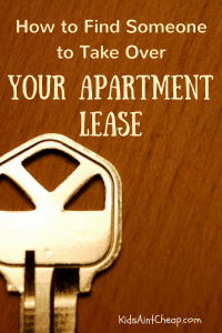 take over apartment lease