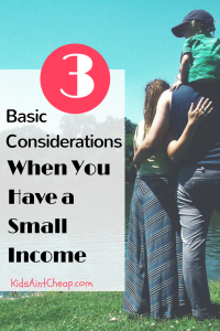 Living On Very Little Income