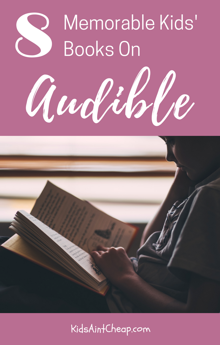 best kids books on audible