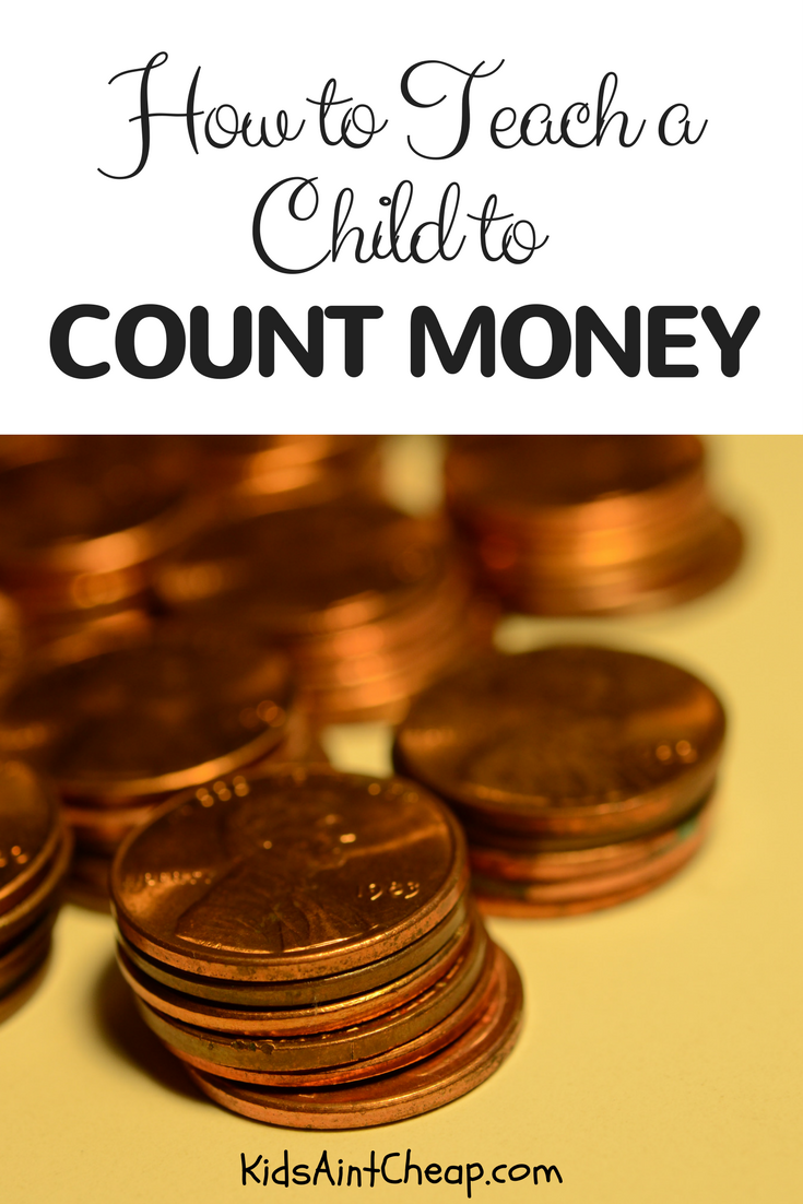how to teach a child to count money