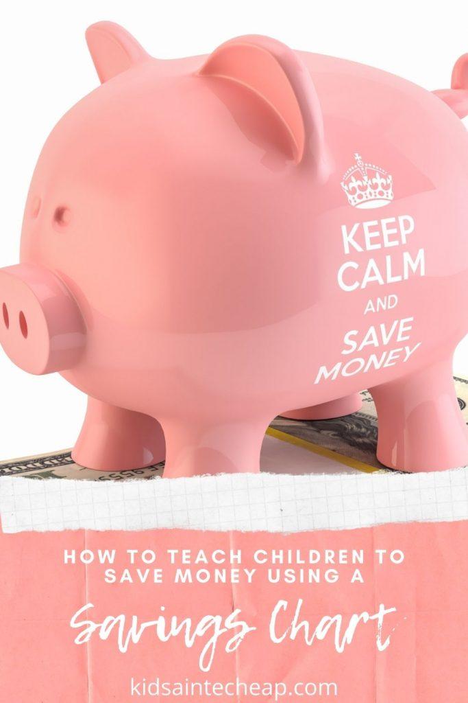 Free Savings Chart for Kids