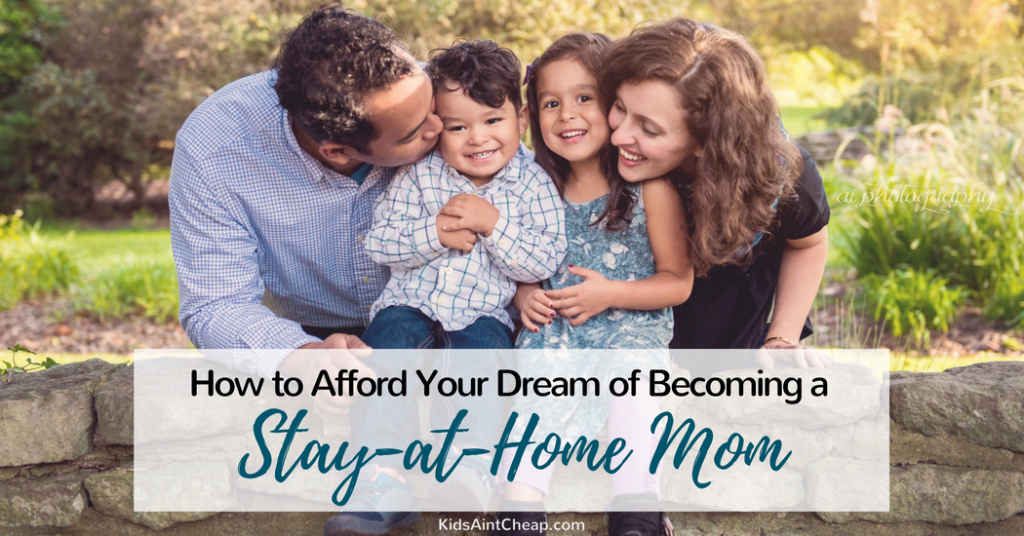 how to afford being a stay-at-home mom