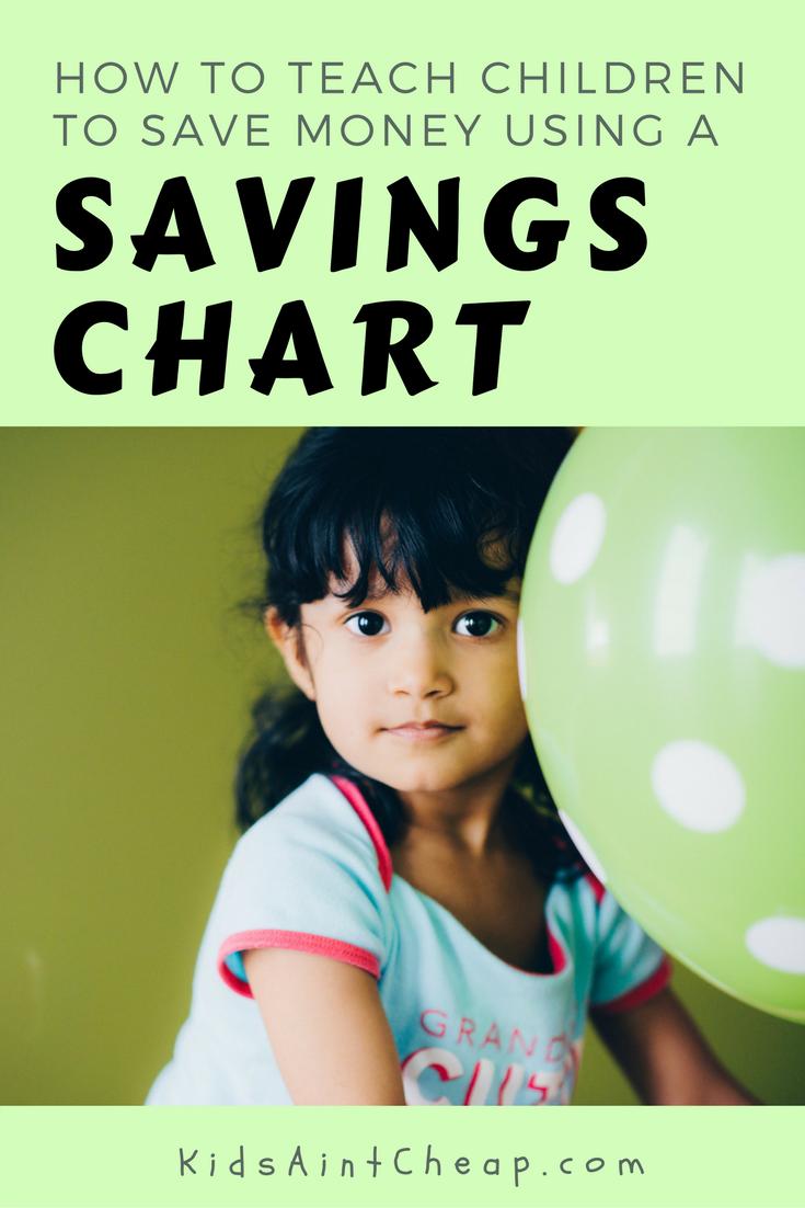 savings chart for kids