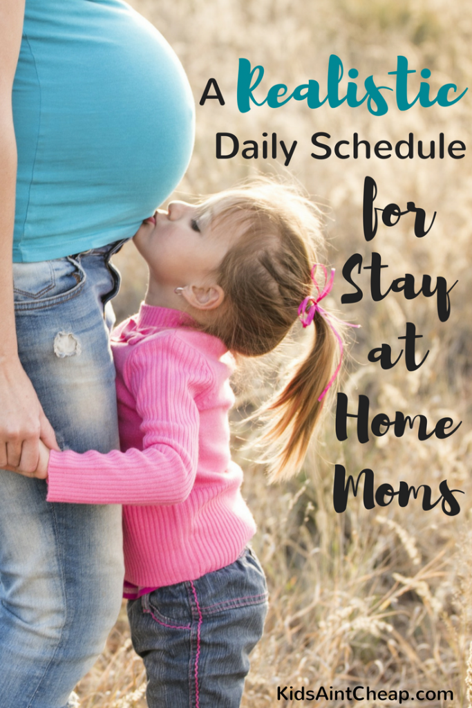 Daily Schedule for Stay-at-Home Moms