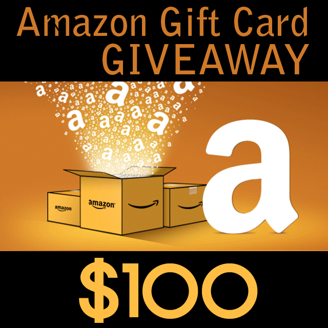 $100 gift card for Amazon